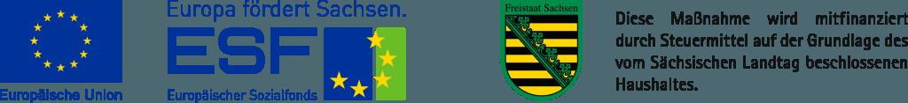 Logo ESF Sachsen